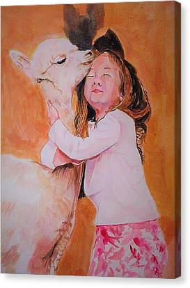 Sensitivity. Canvas Print by Khalid Saeed