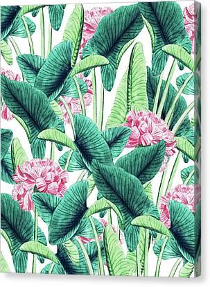 Lovely Botanical Canvas Print by Uma Gokhale