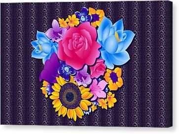 Lovely Bouquet Canvas Print