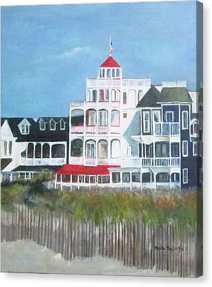 Lovely Cape May Canvas Print