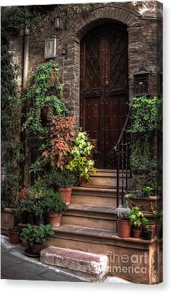 Lovely Entrance Canvas Print by Prints of Italy