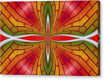 Lovely Geometric  Canvas Print