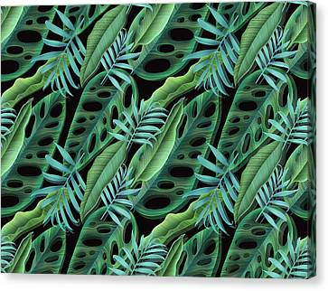 Tropical Canvas Print - Lovely Green  by Mark Ashkenazi