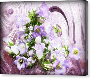 Lovely Spring Flowers Canvas Print