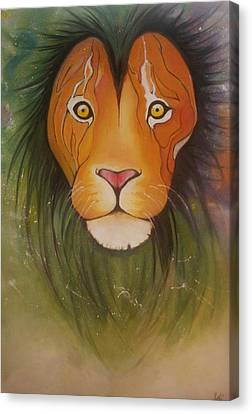 Animals Canvas Print - Lovelylion by Anne Sue