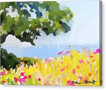 Lover's Lane, Rockport, Ma Canvas Print
