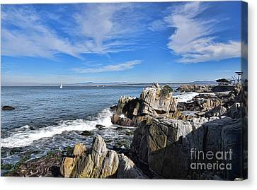 Lovers Point Park Canvas Print by Gina Savage