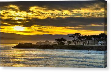 Lover's Point Sunrise Canvas Print