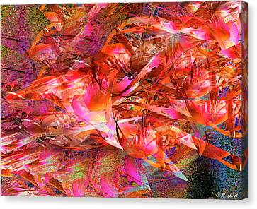 Loves Whirlwind Canvas Print by Michael Durst