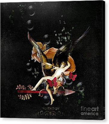 Lovey Dovey  Canvas Print