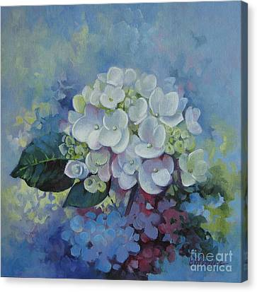 Loving Hydrangea Canvas Print