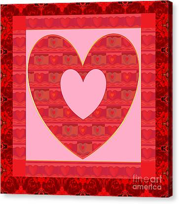 Loving You Canvas Print