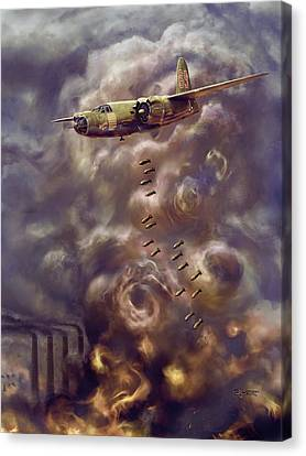 Low Level Attack Canvas Print