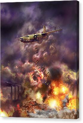 Low Level Hell Canvas Print