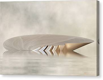 Low Tide - Seashell Rises Canvas Print