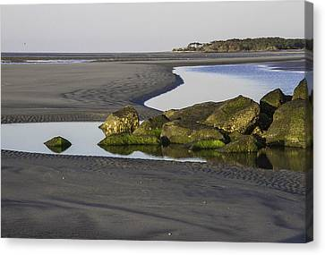 Low Tide On Tybee Island Canvas Print