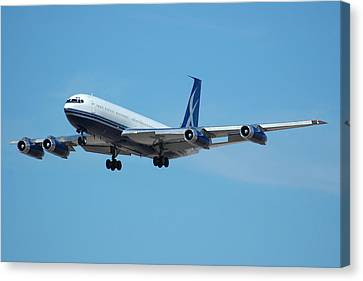 Lowa Limited Boeing 707 N88zl Canvas Print by Brian Lockett