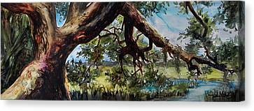 Lowcountry Dreaming Canvas Print by Trish McKinney