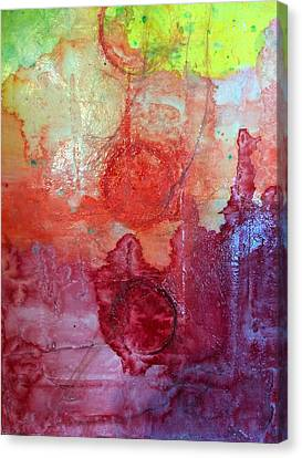 Lower Chakras Blending Canvas Print by Jounda Strong