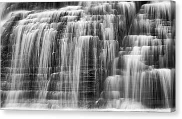 Lower Falls Cascade Canvas Print by Stephen Stookey