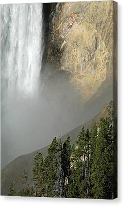 Lower Falls Closeup Canvas Print by Bruce Gourley
