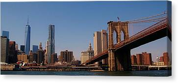 Lower Manhattan Nyc Canvas Print