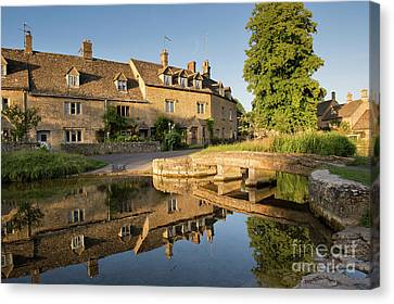 Lower Slaughter Cotswolds Canvas Print