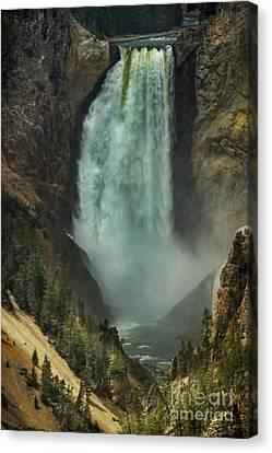 Lower Waterfalls Canvas Print