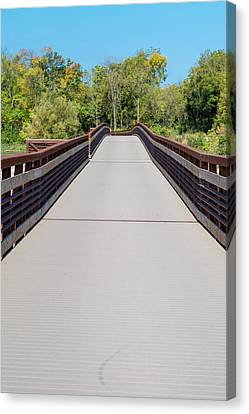 Canvas Print - Lower Yahara River Trail 2 - Madison - Wisconsin by Steven Ralser