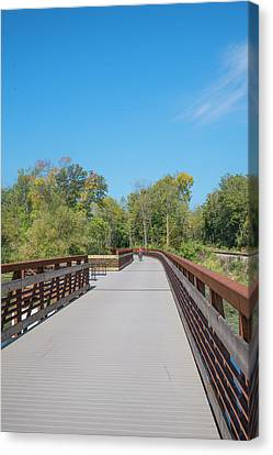 Canvas Print - Lower Yahara River Trail 5 - Madison - Wisconsin by Steven Ralser