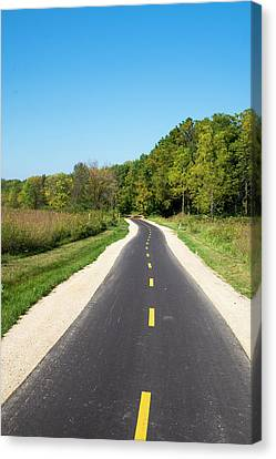 Canvas Print - Lower Yahara River Trail 6- Madison - Wisconsin by Steven Ralser