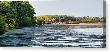 Canvas Print - Lower Yahara River Trail - Madison - Wisconsin by Steven Ralser