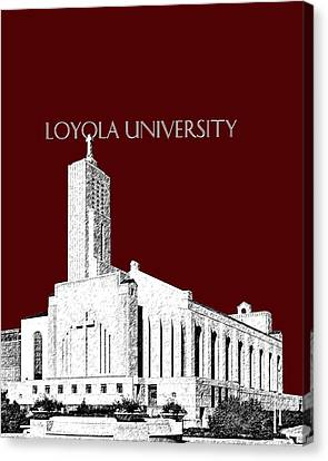 Loyola University Version 1 Canvas Print by DB Artist