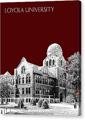 Loyola University Version 2 Canvas Print by DB Artist