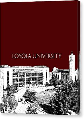 Loyola University Version 3 Canvas Print by DB Artist