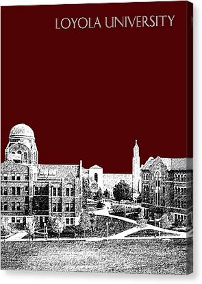 Loyola University Version 4 Canvas Print by DB Artist