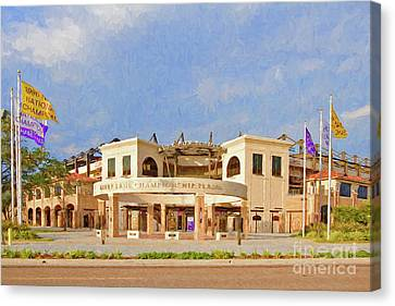 Lsu Championship Plaza Canvas Print