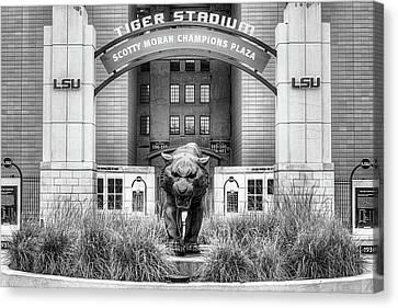 Lsu Tiger Stadium Canvas Print by JC Findley
