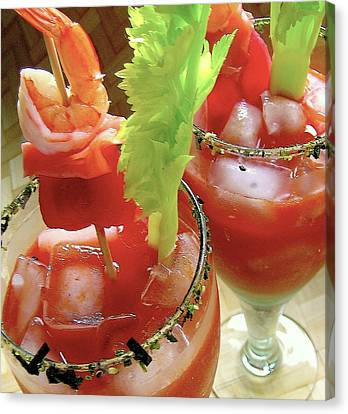 Luau Bloody Mary Canvas Print by James Temple