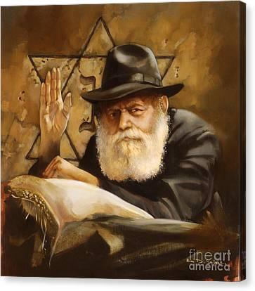 Lubavitcher Rebbe Canvas Print