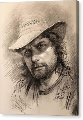 Luca Canvas Print by Ylli Haruni