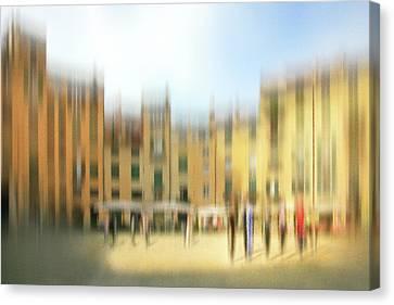 Lucca Ampitheatre Impression 1 Canvas Print