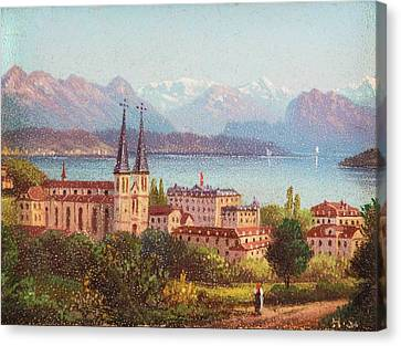 Lucerne Canvas Print by MotionAge Designs