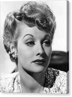 Lucille Ball, Ca. 1940s Canvas Print by Everett