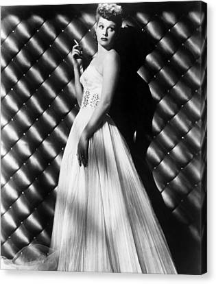 1950s Portraits Canvas Print - Lucille Ball, Ca. 1950s by Everett