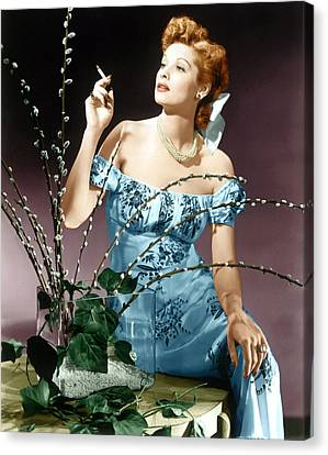 Lucille Ball, Ca. Midlate 1940s Canvas Print