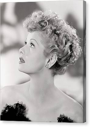 Lucille Ball Portrait, 1940s Canvas Print by Everett