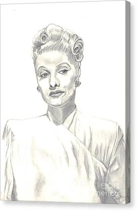 Lucille Canvas Print by Carol Wisniewski