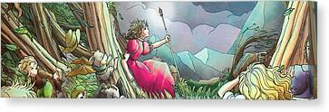 Lucinda  Canvas Print by Reynold Jay