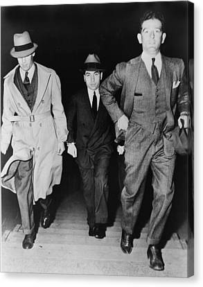 Punishment Canvas Print - Lucky Luciano 1896-1962, Being Escorted by Everett